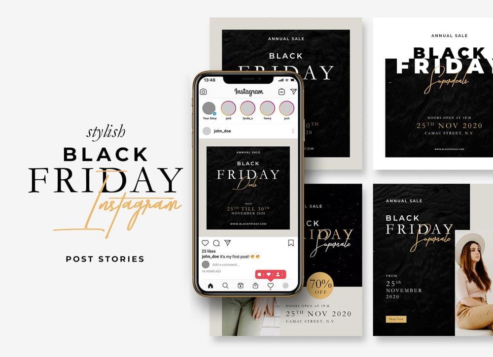 Free Black Friday Instagram Stories