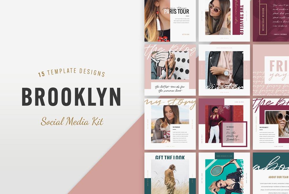 Free Brooklyn Instagram Templates