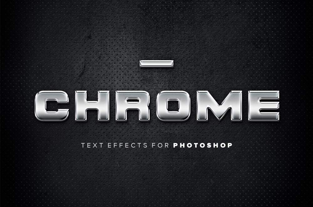 Free Chrome Text Effects