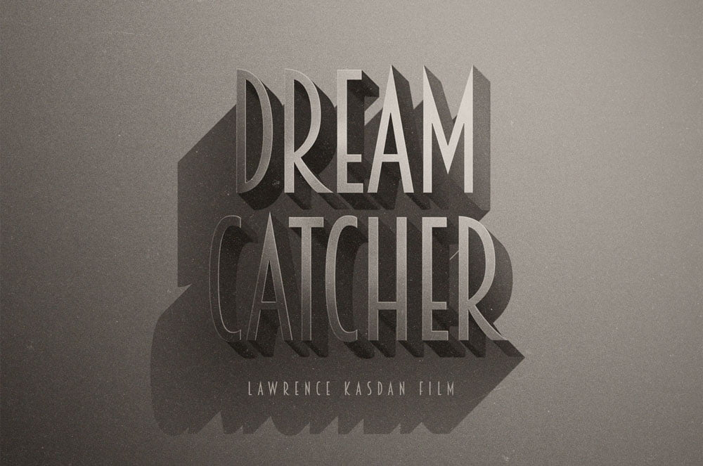 Free Cinematic Retro Text Effects