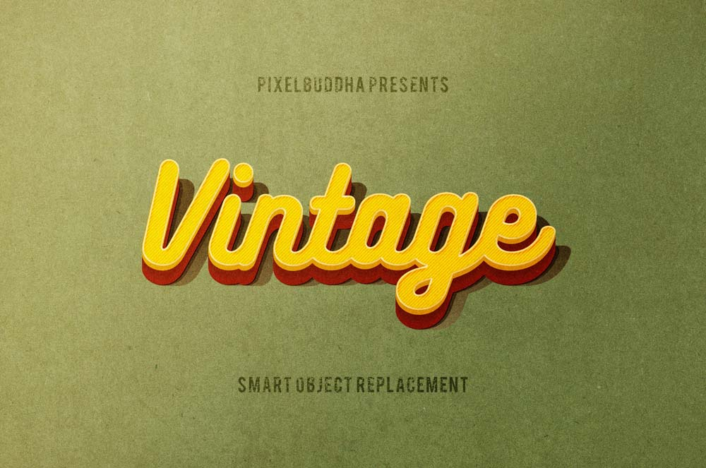 Free Classic Vintage Text Effects