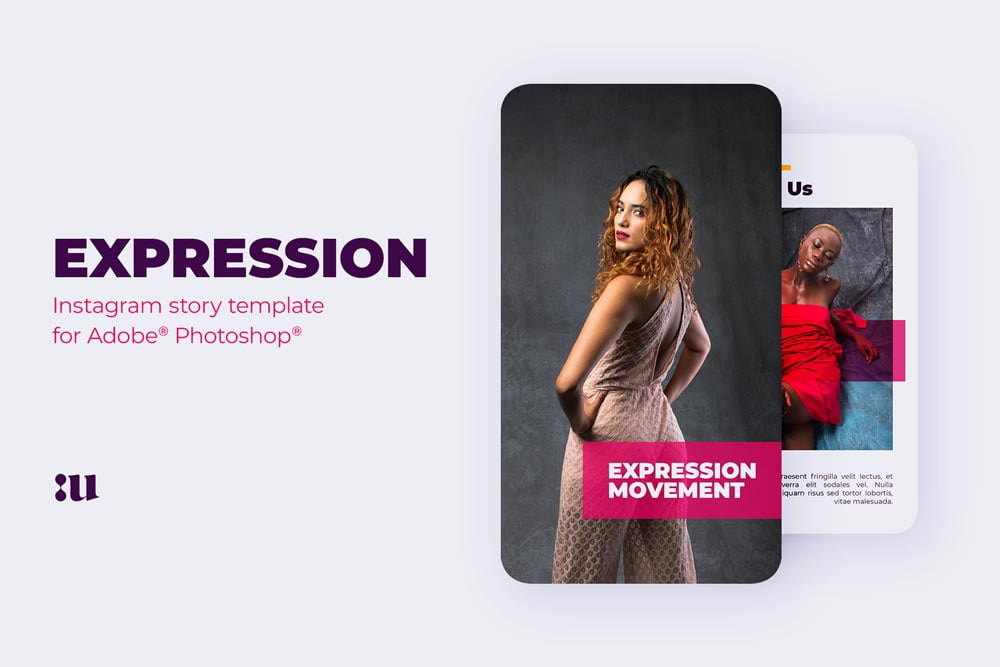 Free Expression Instagram Story Template