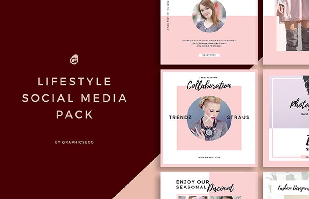 Free Lifestyle Social Media Instagram Pack