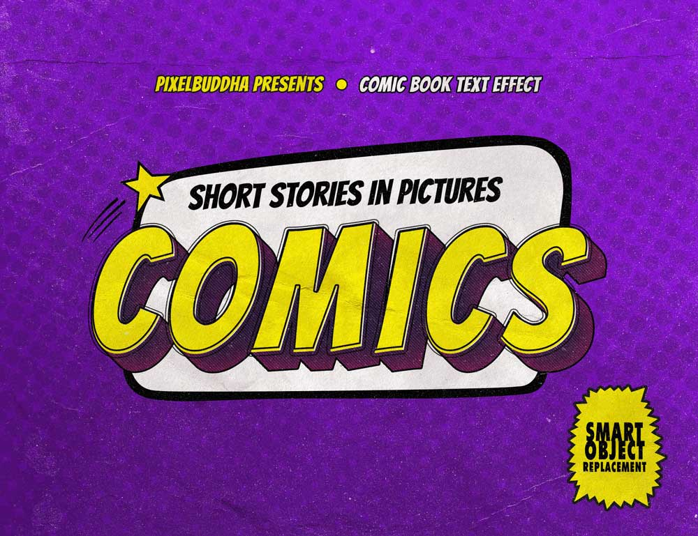 Free Old Comics Text Effects