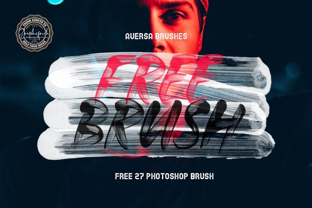 Free Photoshop Stroke Brushes
