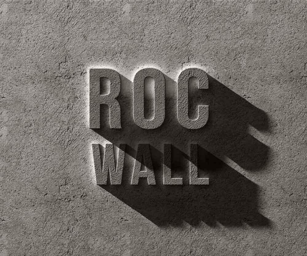 Free Concrete Rock Text Effect