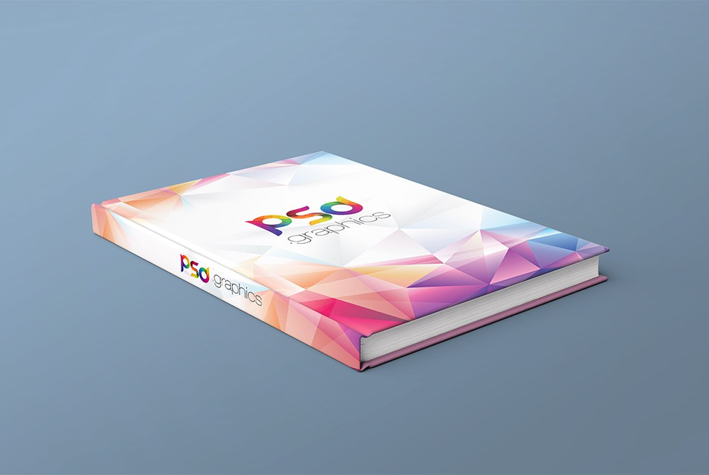 Free PSD Book Cover Mockup