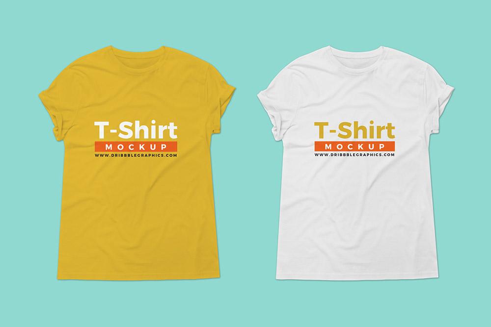 Free T-Shirt Mockup For Branding