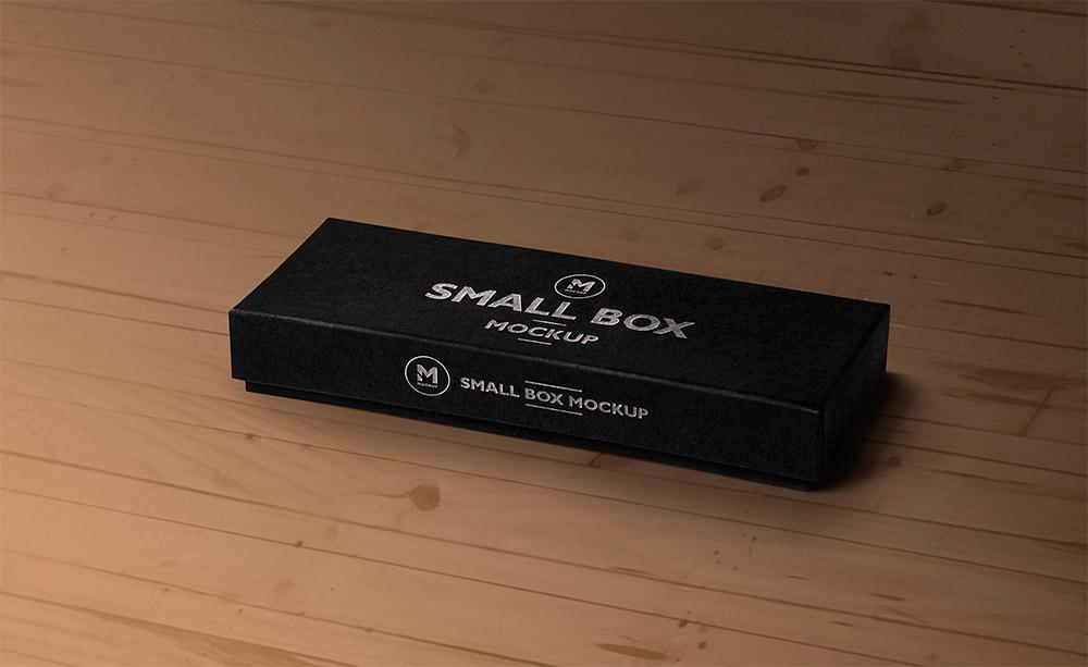 Free Top & Front Box Mockup