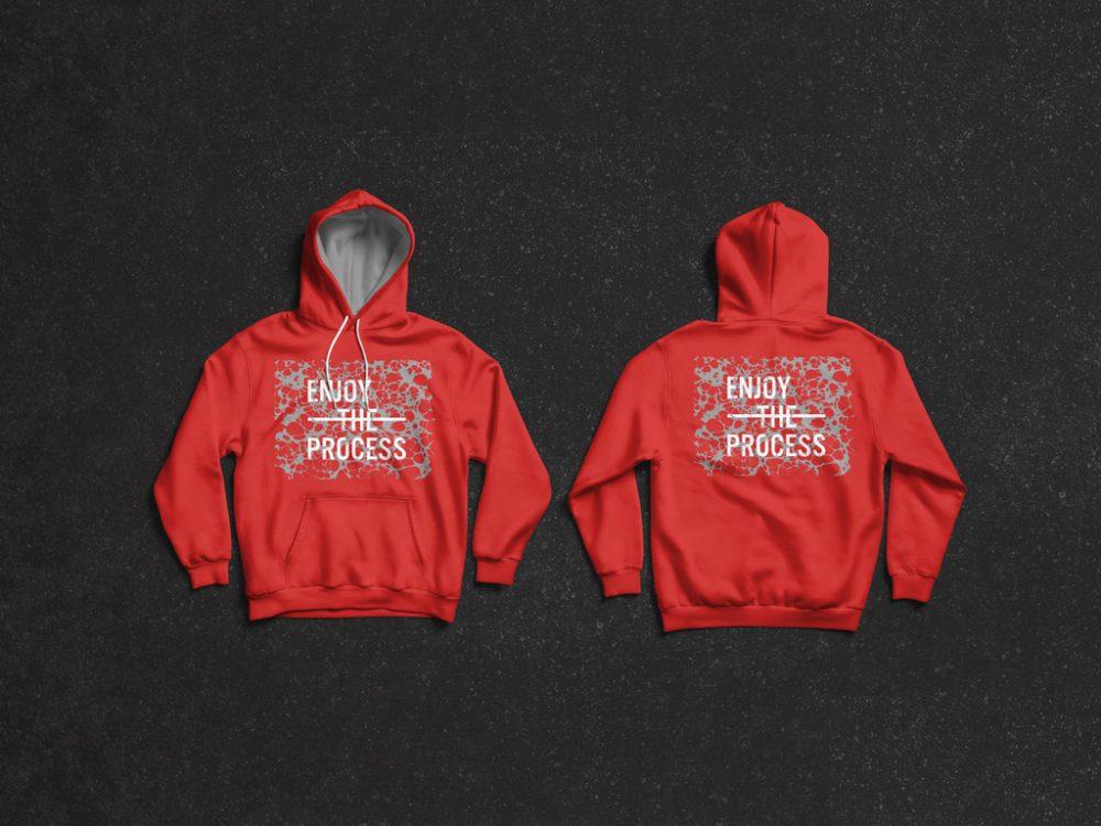 Free Front & Back Hoodie Mockup