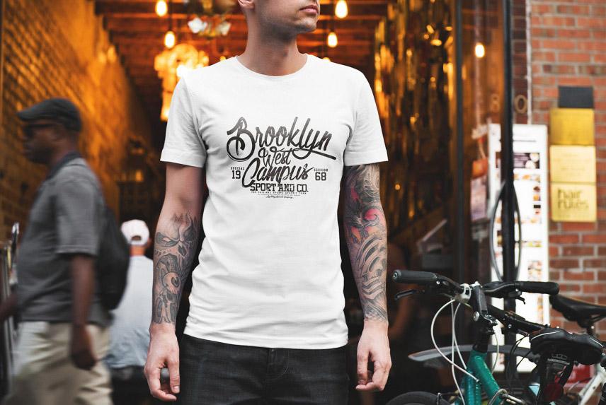 Free Professional T-Shirt Mockup