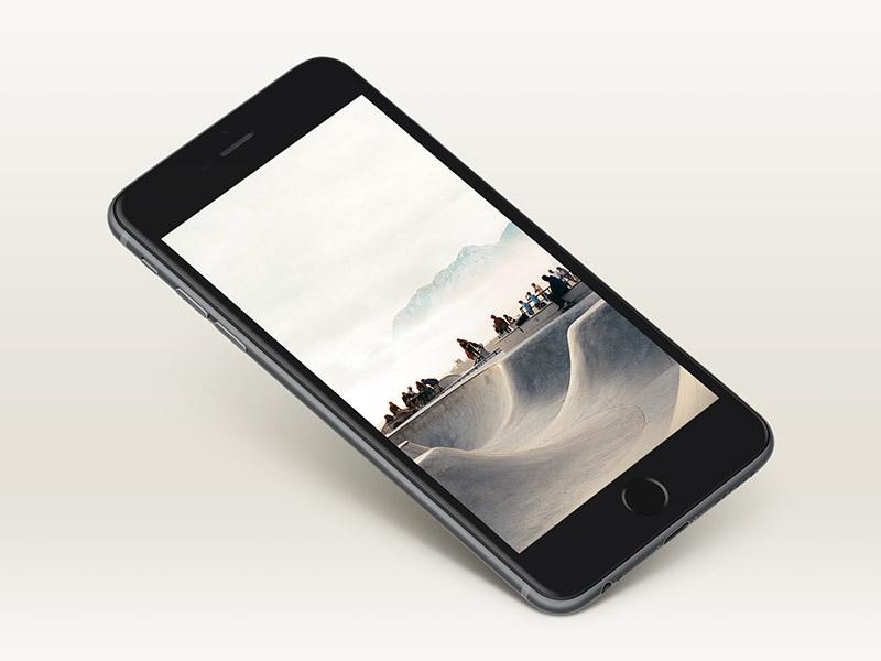 Free Great iPhone 6 Mockup