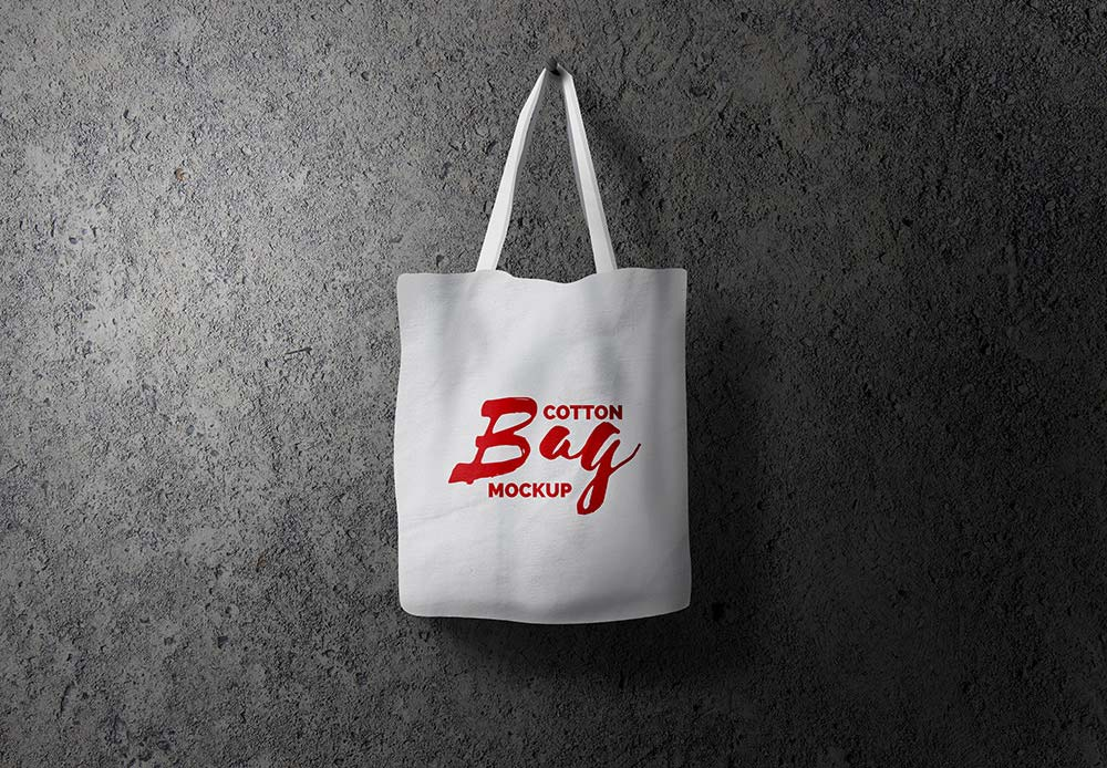 MockupMockuptree Cotton Cotton Free Bag Bag Free qzSUpMV