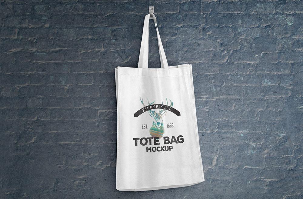Free Tote Bag Mockups