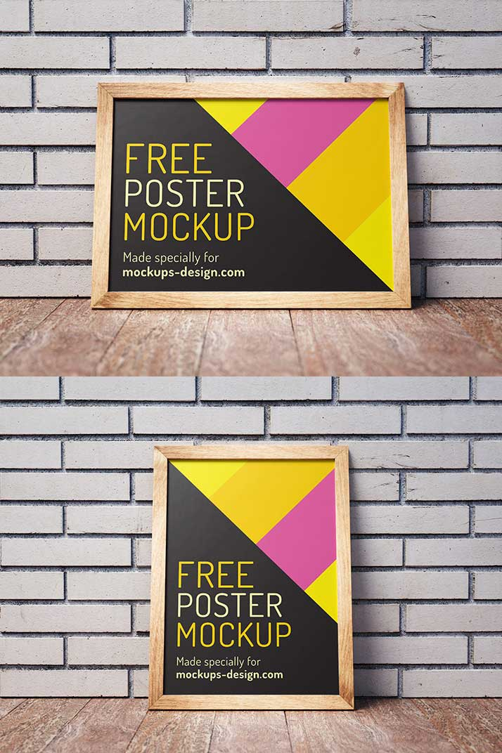 Free Posters Mockup