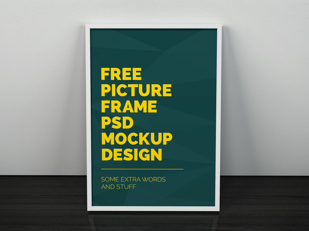 Free Artwork Frame Mockup