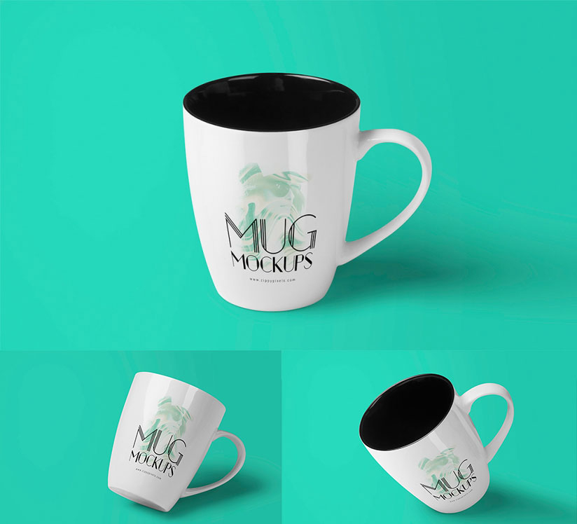 Free Outstanding Coffee Cup Mockups