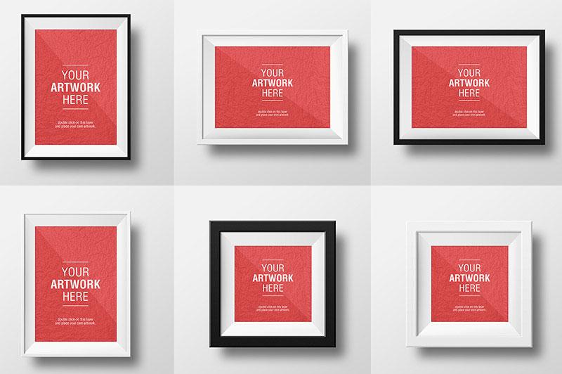 Free Artwork Frame Mockups