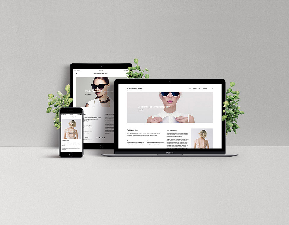 Free Screen Web Showcase Mockup
