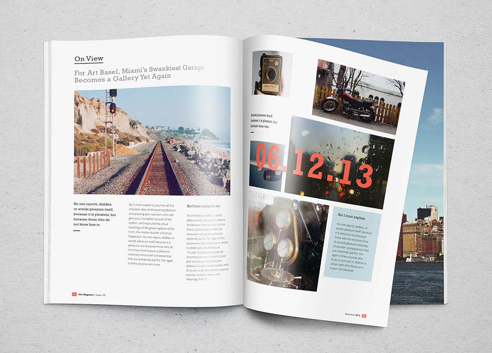 Free Realistic Magazine Mockup