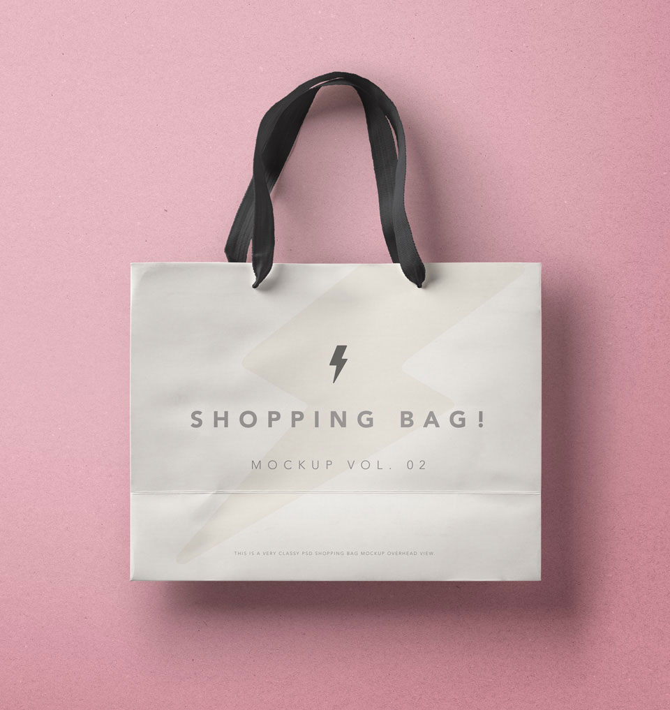 Free Shopping Bag Mockup Template