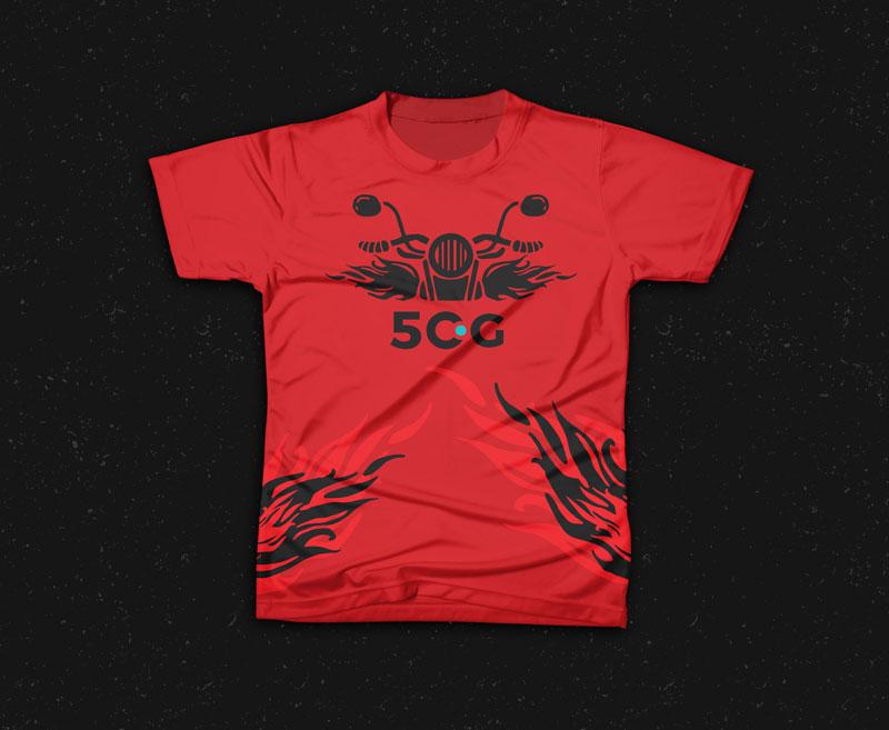 Free Creative T-Shirt Mockup