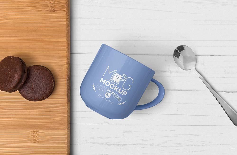 Free Lovely Mug Mockup