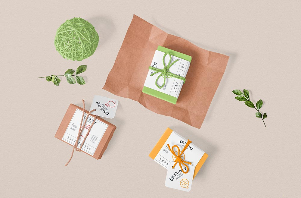 Free Craft Soap Mockup