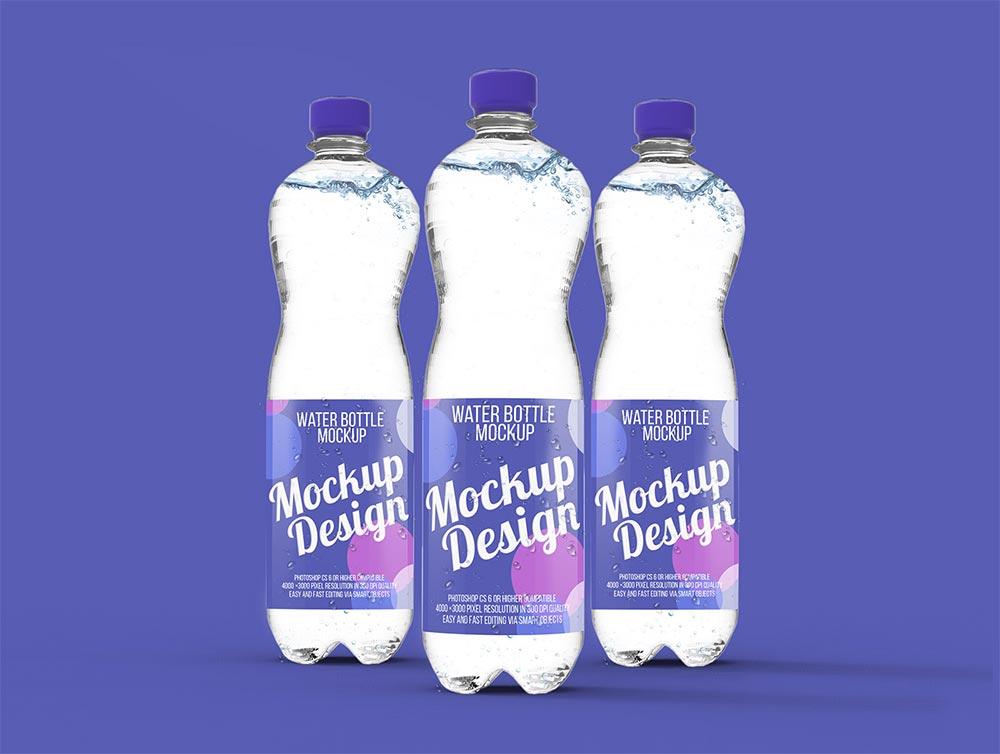 Free Water Bottle Mockups