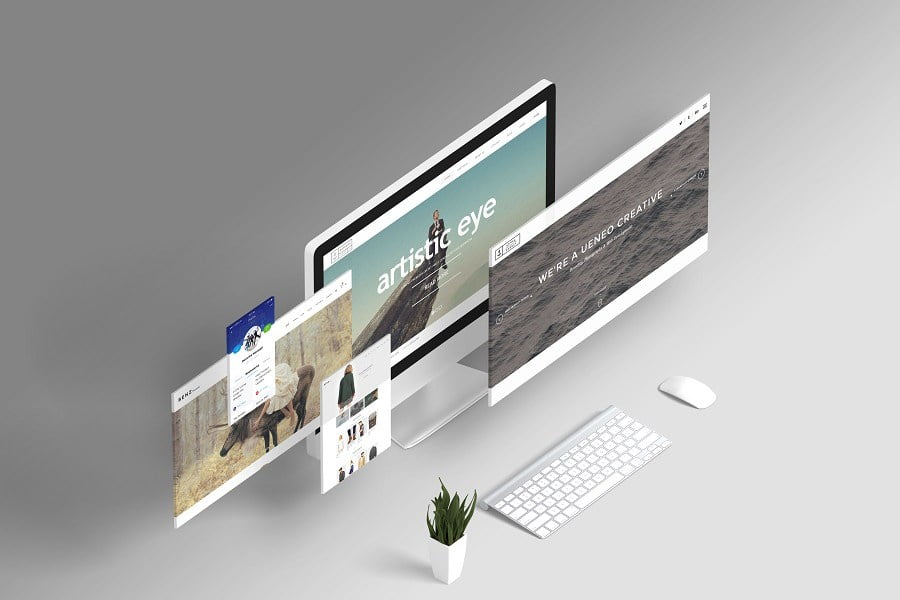 Free Web Mockup Creator