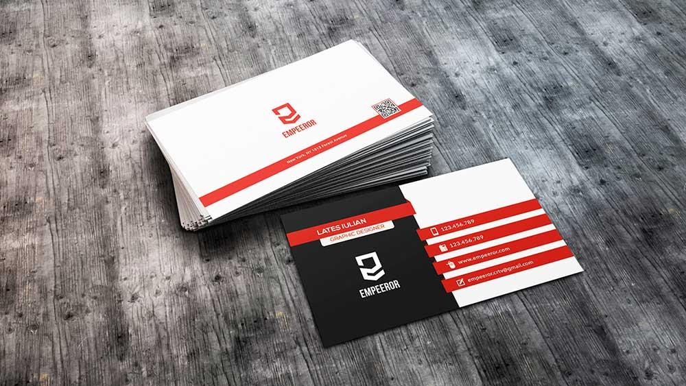 free mockup business cards  mockuptree