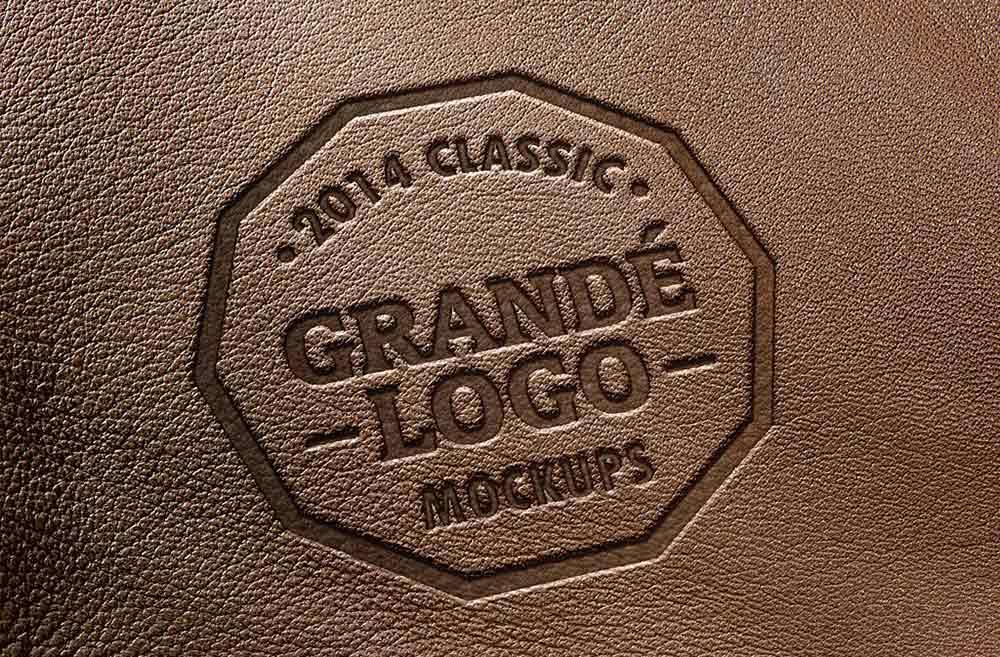Free Photorealistic Logo Mockup