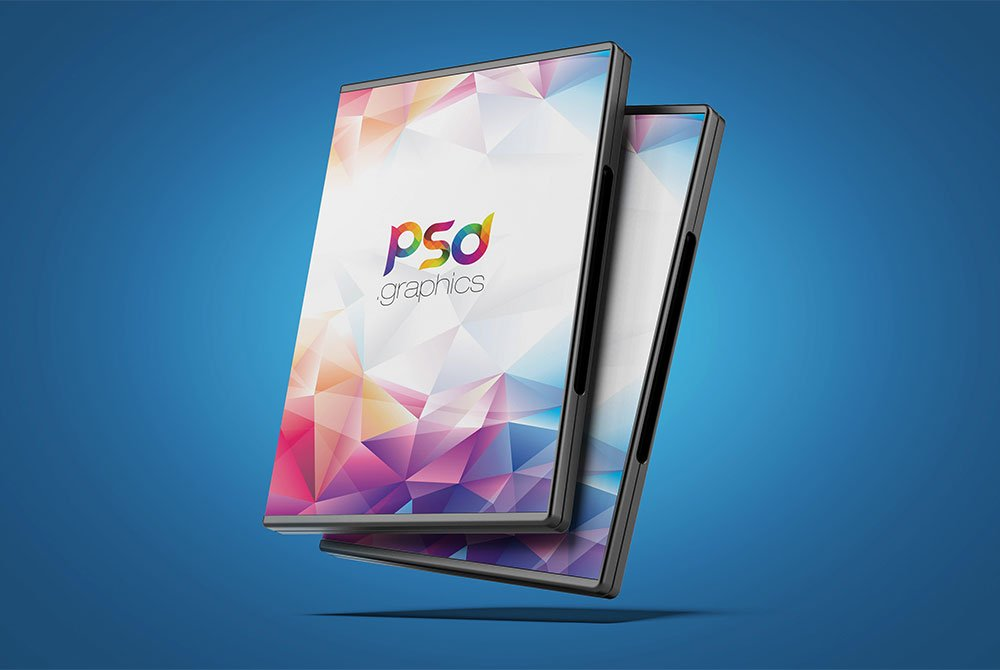 Free DVD Box Cover Mockup
