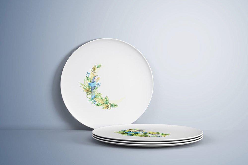 Free Plate Mockup PSD