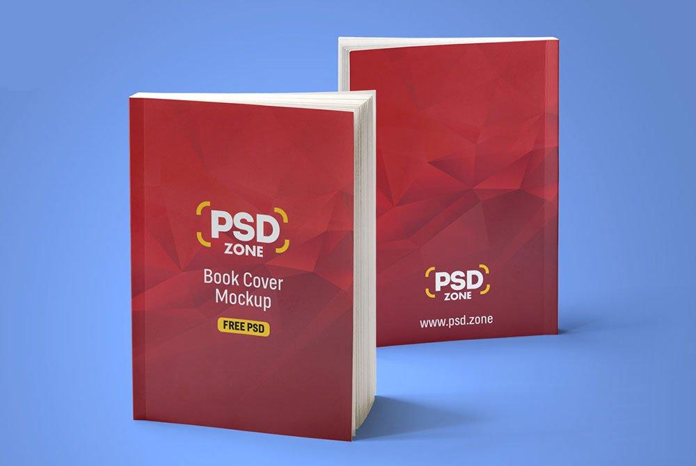 Free Realistic Book Mockup Psd Mockuptree