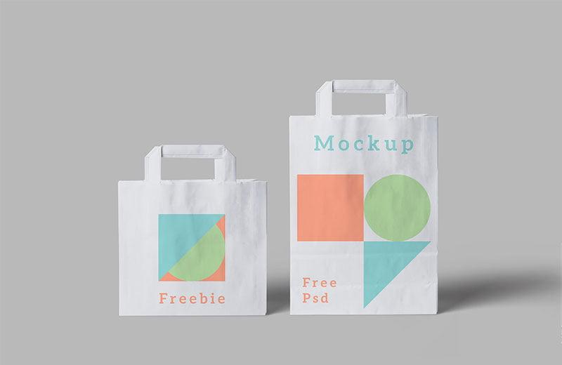 Free Paper Bag Mockups Psd Mockuptree