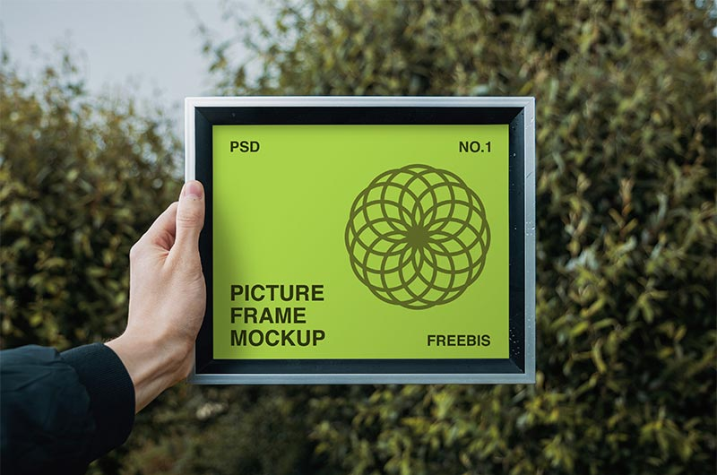 Free Picture Frame Mockup