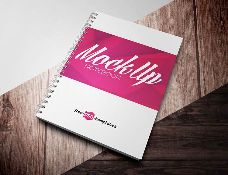 Free Notebook Mock-up