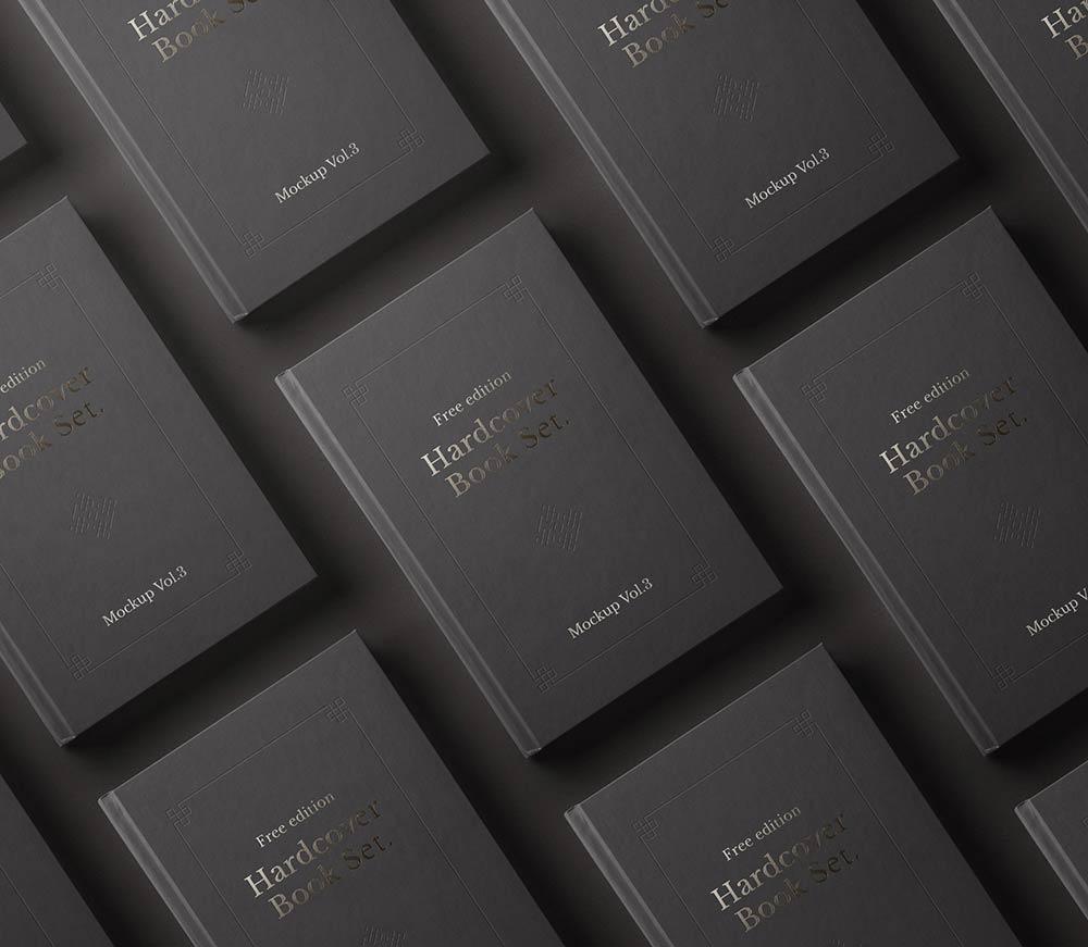 Free Hardcover Book Mockups