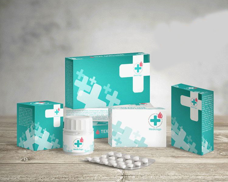Free Packaging Medical Mockup