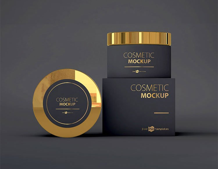 Free Cosmetic Product Mockups
