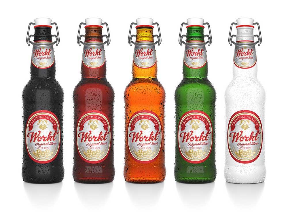 Free Beer Bottle Mockups