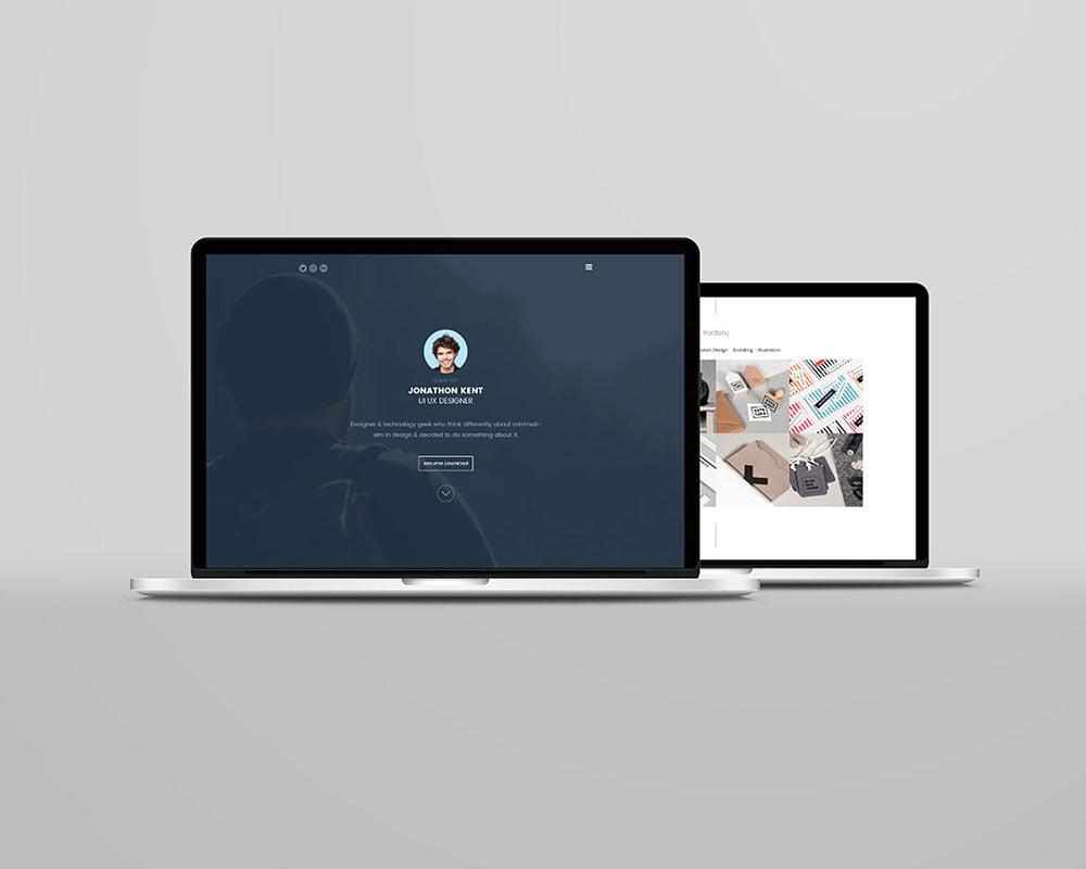 Free Laptop Mockup PSD