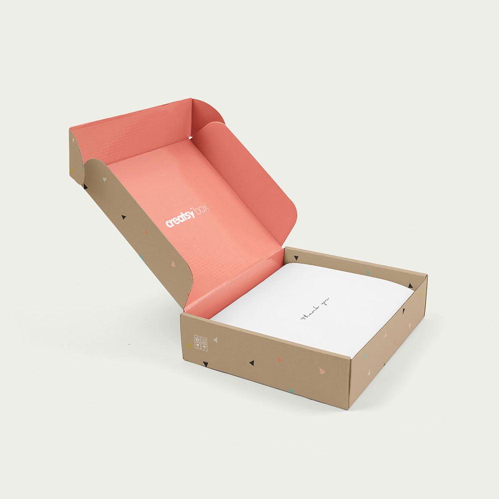 Free Mailing Box Mockup
