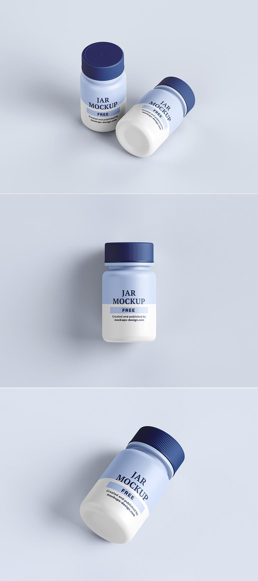 Free Pharmaceutical Jar Mockup