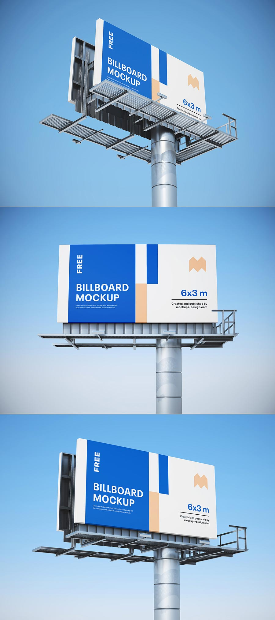 Free Billboard Mockups PSD