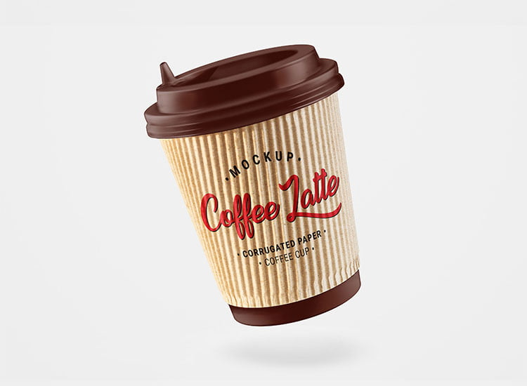 Free Paper Coffee Cup Mockups
