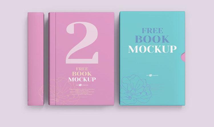Free Psd Book Cover Mockups Mockuptree