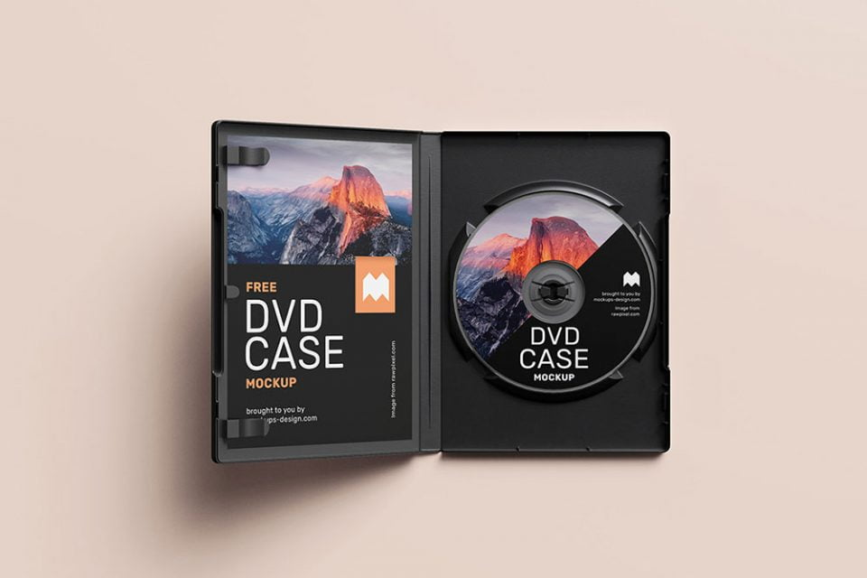 35 Best Free Cd Dvd Mockups For 2020 Mockuptree