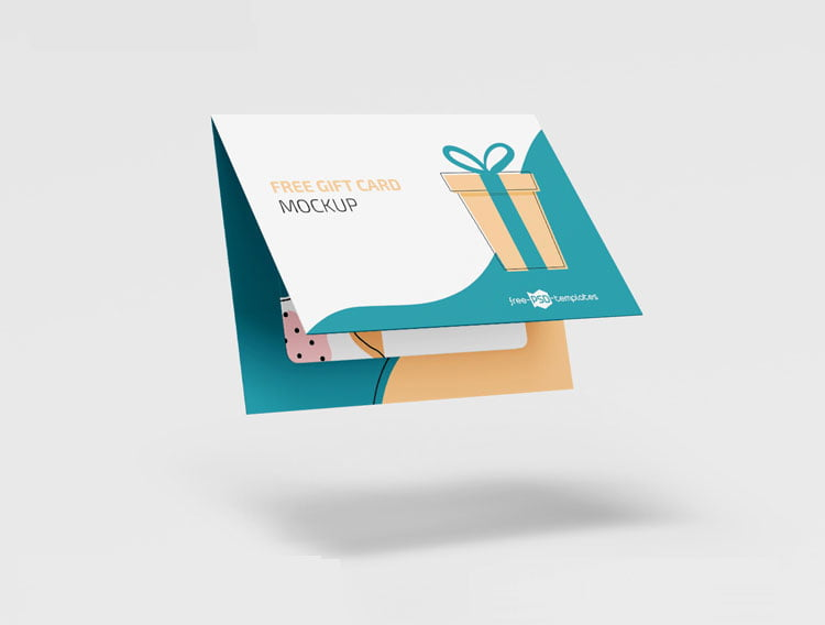 Free Gift Cards Mockup